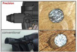Fixx CNP65 Cloueur pneumatique 0° rouleau plastique de 32mm à 65mm