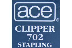 Pince agrafeuse Ace Clipper 702 Chromé pour agrafes n°700