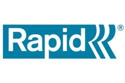 Rapid R13E Agrafeuse manuelle ABS pour agrafes n°13-A19-130-113-37-VZ de 4mm à 10mm