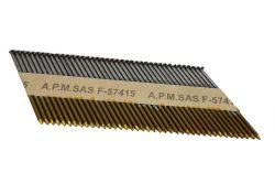 2,9x63mm Annelées Acier